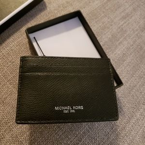 Michael Kor's Men's Warren Card Case Money Clip